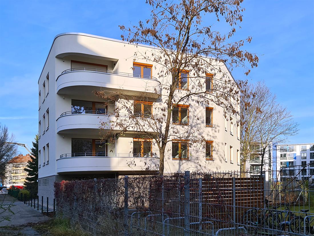 Wernecke + Jahn Architekten, Wohnungsbau Neubau, Berlin Waldowstraße 2